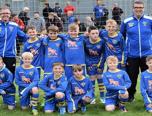 R&R Engineering Sponsors Local Youths Football Team