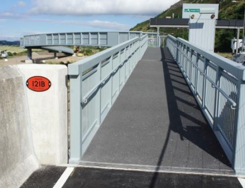 Conwy Morfa to Penmaenbach, Phase 2 & 3, Railway Crossing Bridge