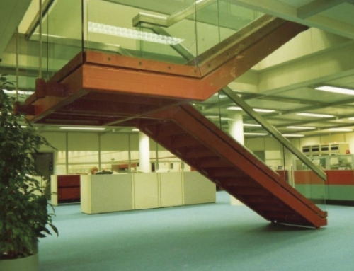 Office Staircase, Halifax Building Society