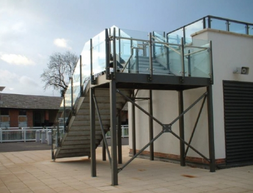 Parade Ring Access Stairs, Aintree Racecourse